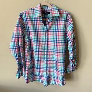 Vineyard Vines boys whale button down shirt #1408